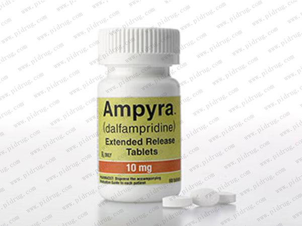 氨吡啶缓释片Ampyra(dalfampridine)