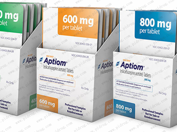 醋酸艾司利卡西平Aptiom(eslicarbazepine acetate)