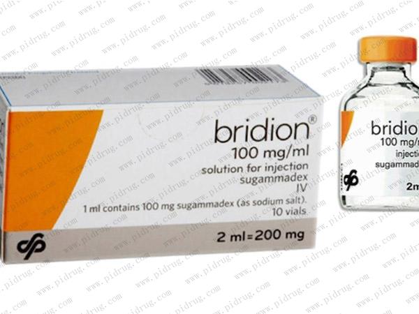 舒更葡糖Bridion(sugammadex)