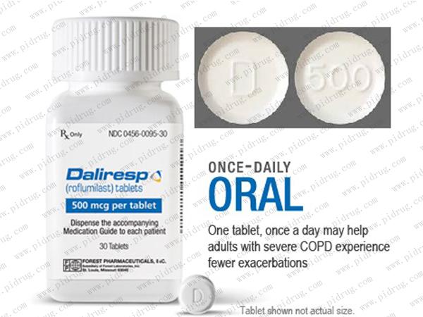 罗氟司特片Daliresp(roflumilast)