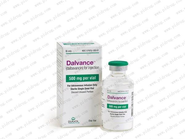 达巴万星Dalvance(dalbavancin)