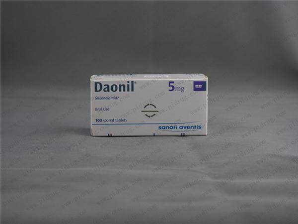 优降糖daonil(格列本脲)