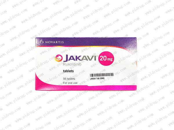 鲁索替尼 捷恪卫Jakavi(Ruxolitinib phosphate)