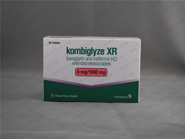 盐酸沙格列汀KOMBIGLYZE XR