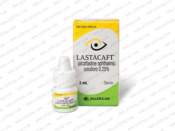 阿卡他定Lastacaft(alcaftadine ophthalmic solution)