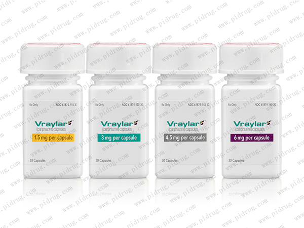 卡比米嗪Vraylar(cariprazine)