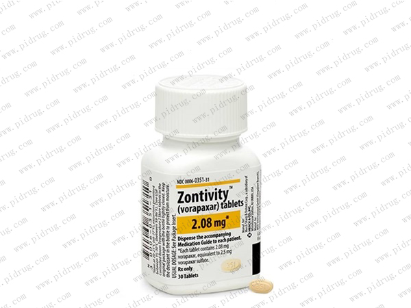 Zontivity(vorapaxar)