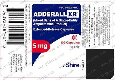 阿德拉缓释胶囊AdderallXR