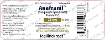 盐酸氯米帕明片Anafranil