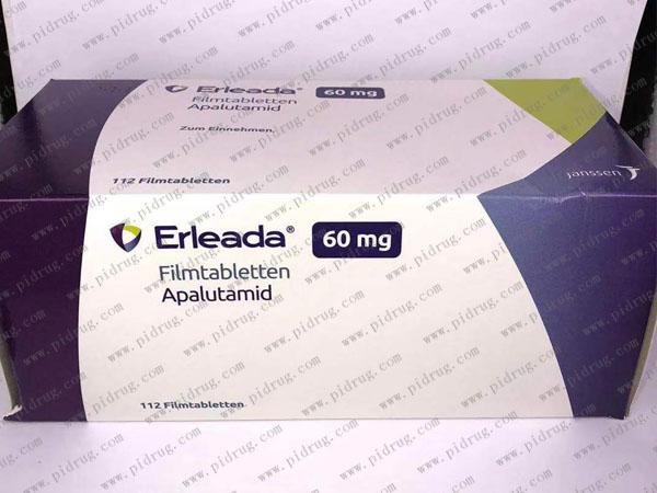 阿帕鲁胺Erleada(apalutamide Tablets)