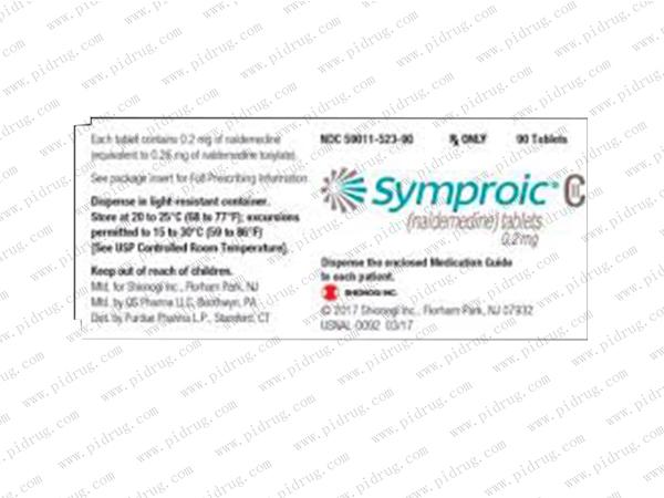 Symproic(naldemedine)