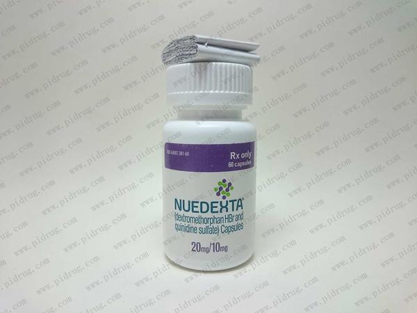 Nuedexta,氢溴酸右美沙芬,硫酸奎尼丁