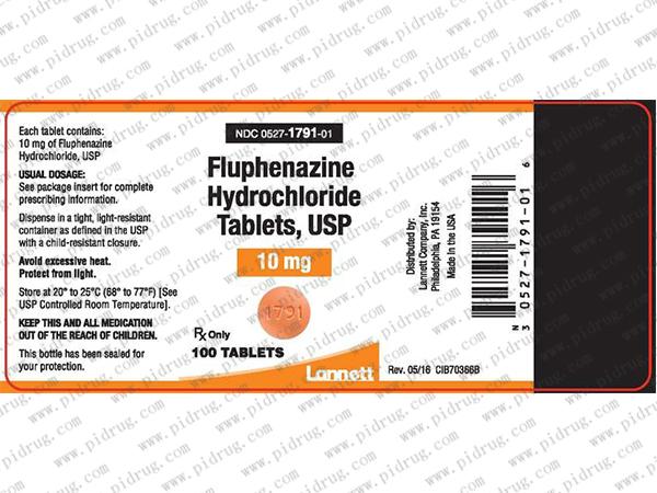 氟奋乃静fluphenazine