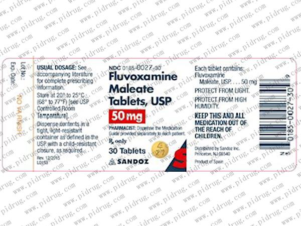 氟握肟氨fluvoxamine