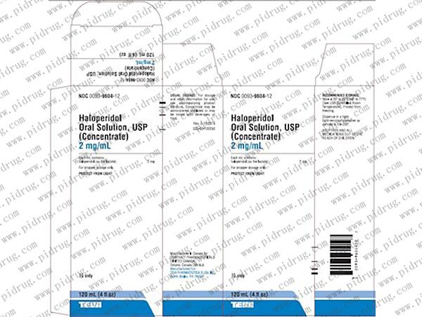 氟哌啶醇片haloperidol