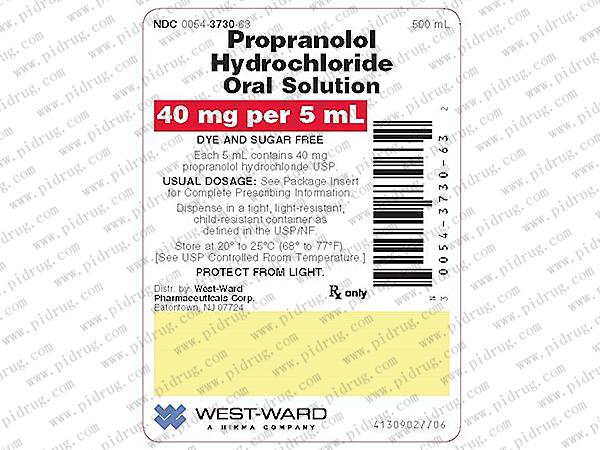 普萘洛尔propranolol