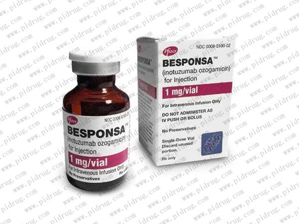 奥英妥珠单抗besponsa(inotuzumab ozogamicin)