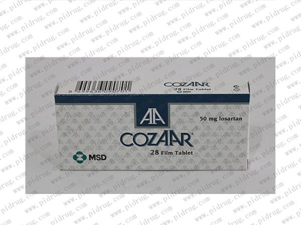 科素亚(氯沙坦钾片,Cozaar)