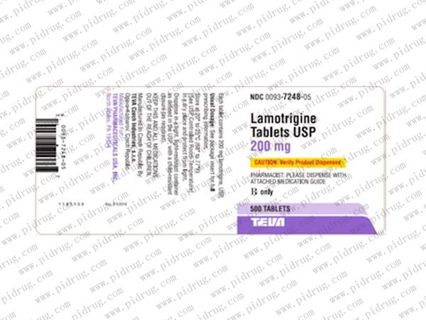 利必通(拉莫三嗪片)lamotrigine
